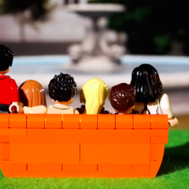 LEGO will make a new Friends Central Perk build set