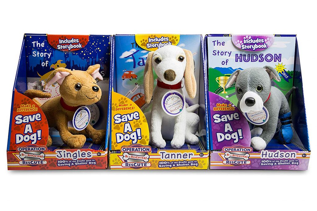 Operation ResCUTE helps save shelter dogs with stuffed animals