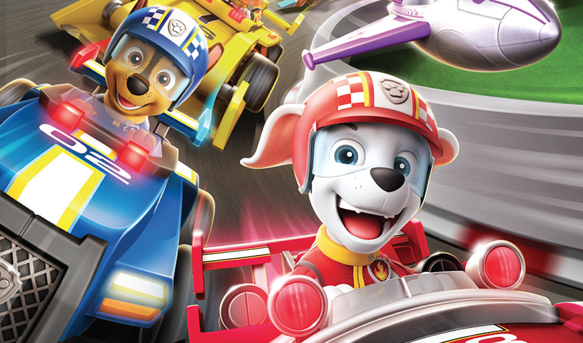"Paw Patrol is preparing for the release of ""Ready, Race, Rescue"""