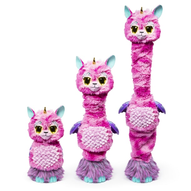 The new Hatchimal is Llalacorn WOW coming at nearly 3 feet tall