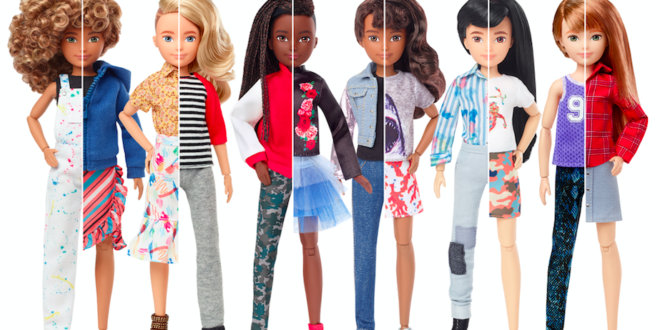 Mattel launches the first gender inclusive fashion doll