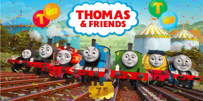 Mattel prepares for a big Thomas & Friends 75th anniversary celebrations