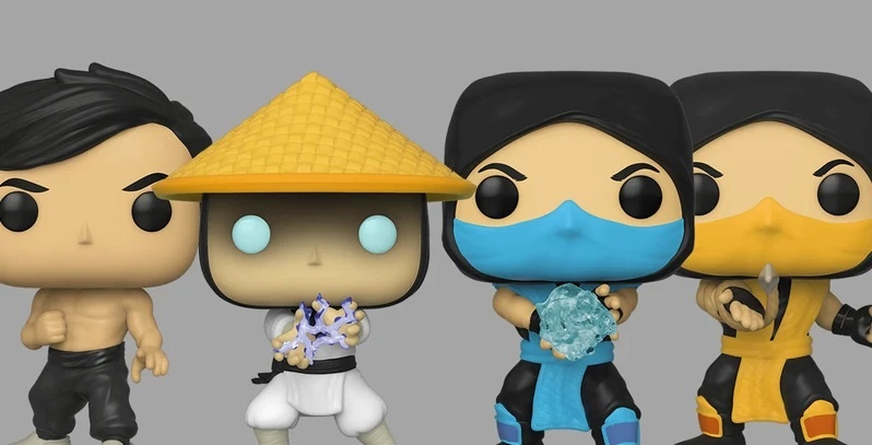 Funko introduces new Mortal Kombat Pop vinyl figures