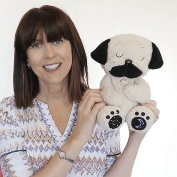 Mindful Moe is a plush Pog which wants to teach kids mindfulness
