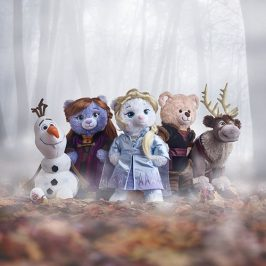 Build-A-Bear introduces a new Frozen 2 line of stuffed animals