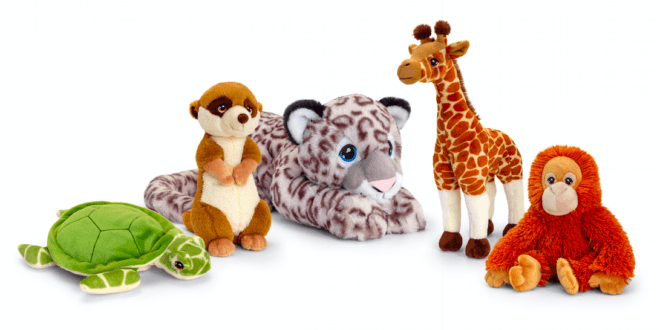 Keel Toys launches new line of sustainable stuffed animals