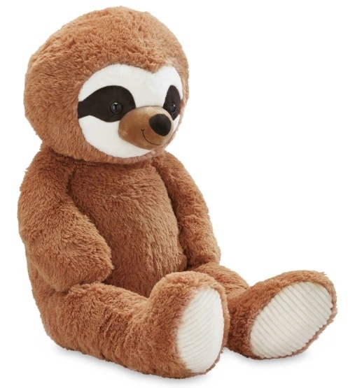 Aldi brings back its giant plush sloth