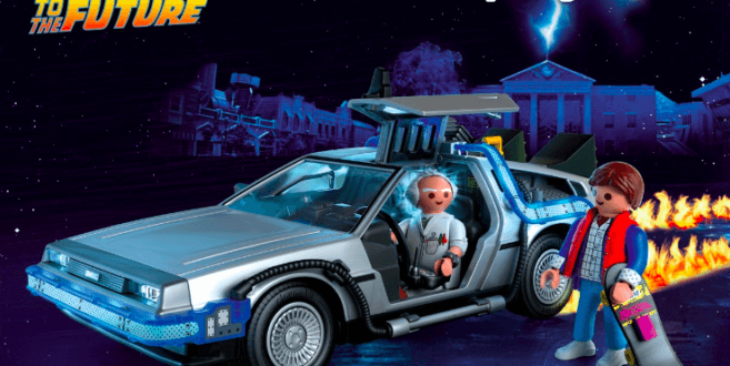 Several big toy makers mark the 35th Anniversary of Back to the Future