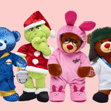 Build-A-Bear introduces a line of Christmas-themed teddy bears