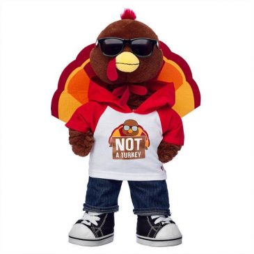 Build-A-Bear introduces plush turkeys for Thanksgiving