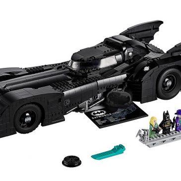 LEGO celebrates the 30th anniversary of Tim Burton's Batman with a special Batmobile set