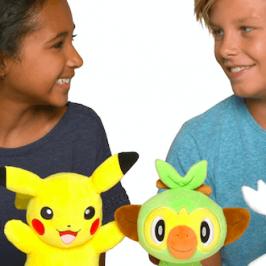 The Pokemon Company introduces new plush toys