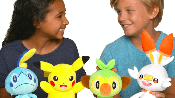 The Pokemon Company introduces new plush toys