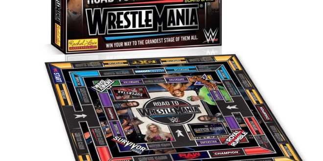 WWE gets into board games in a collaboration with Rachel Lowe