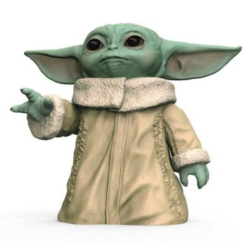 Hasbro introduces several Baby Yoda toys, including plush