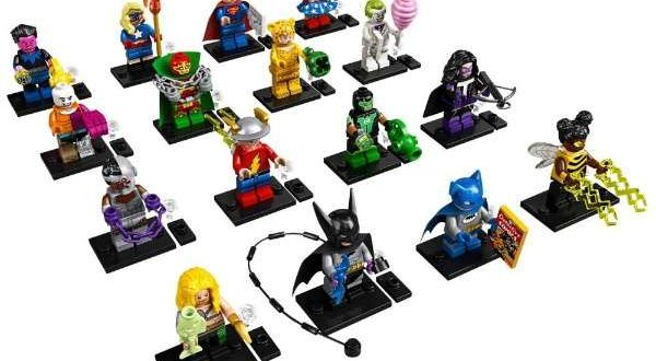 LEGO, DC Comics and Warner introduce a new line of Minifigures