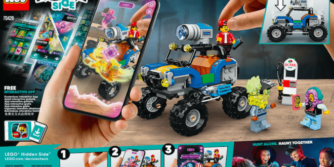 LEGO to introduce six new Hidden Side playsets in 2020 and multiplayer mode