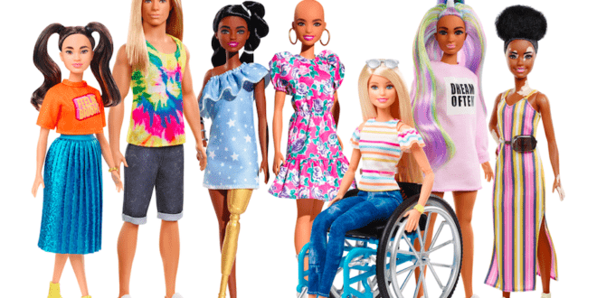Barbie introduces the latest Fashionistas line-up of diversity dolls