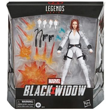 Black Widow gets its new toy line of action figures
