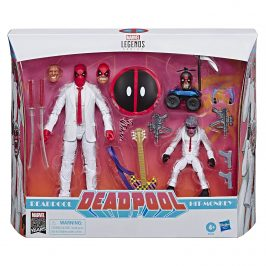 Hasbro introduces a Marvel Legends Deadpool 2-pack action figure