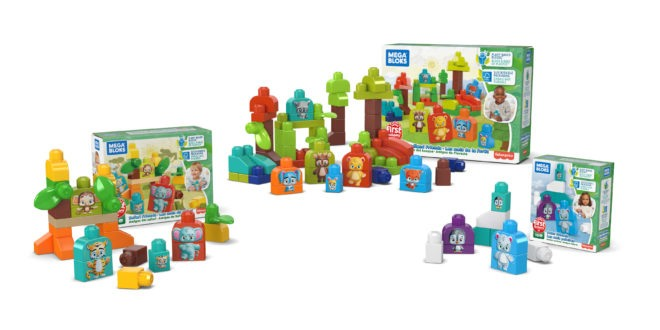 Mattel shows off new bio-plastics toys – Mega Bloks