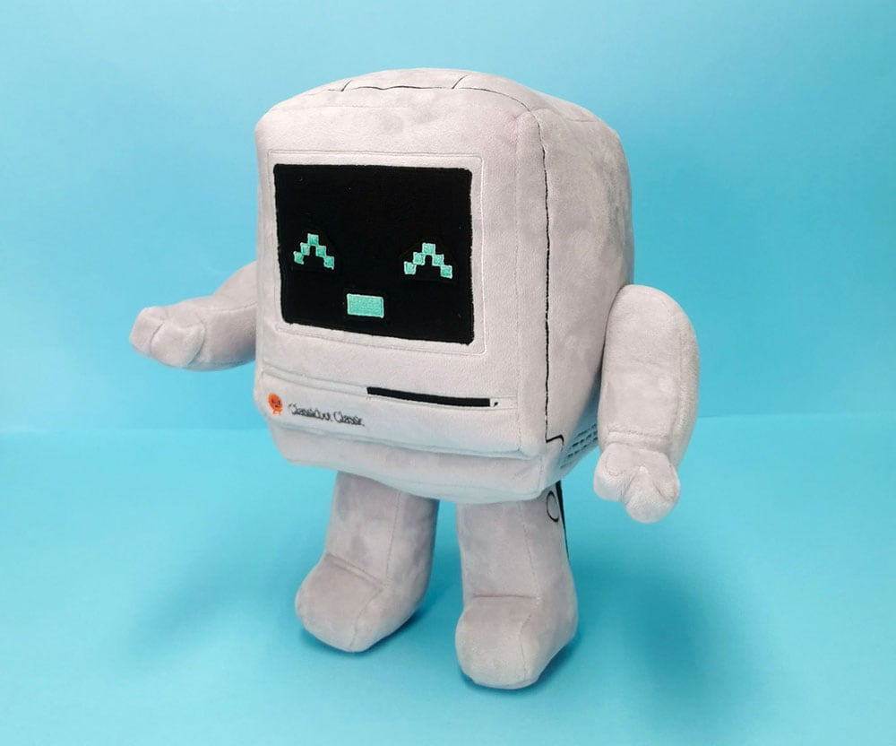 Hong Kong designer introduces a plush Apple Mac computer