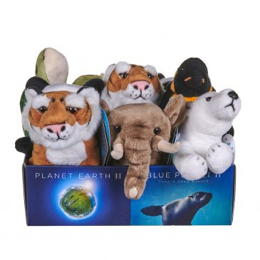 BBC and Posh Paws add new, eco-friendly BBC Earth stuffed animals