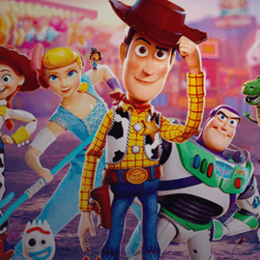 Toy Story 4 won an Oscar for best animated feature