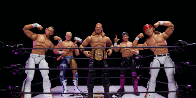 AEW and Jazwares introduce new action figures