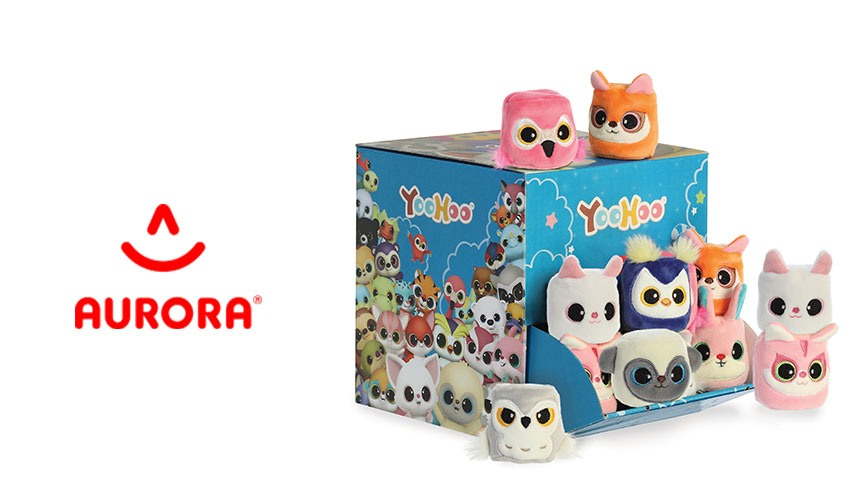 Aurora World launches a new wave of the Yohoo plush toys