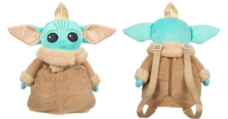 This Baby Yoda plushie is also a backpack