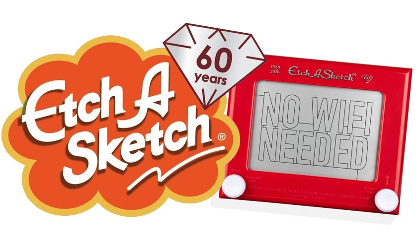 Etch a Sketch marks 60 years with special editions