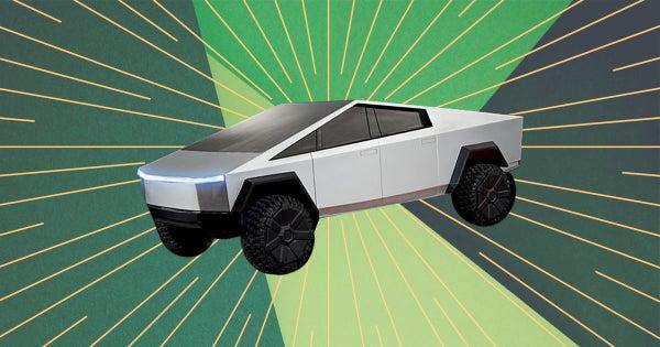 """Hot Wheels added two Tesla Cybertruck models, one with a """"broken"""" window"""
