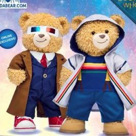 Build-A-Bear will launch Doctor Who teddy bears