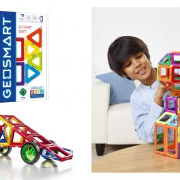 GeoSmart introduces new magnetic building sets
