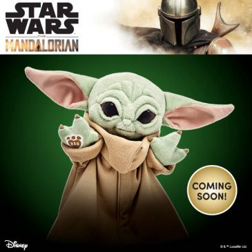 These are some of the new Baby Yoda toys that are coming to the market
