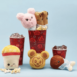 Disney introduces surprise plush toys shaped like snacks