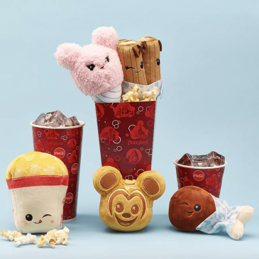 Disney introduces surprise plush toys shaped like snacks