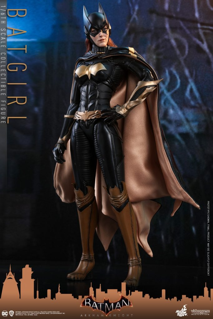 Hot Toys introduces a new Batgirl action figure from Arkham Knight