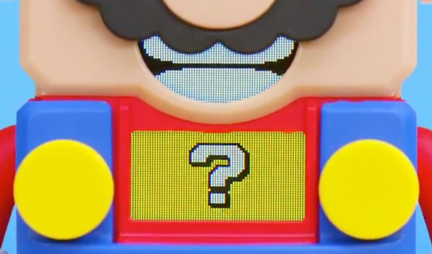 LEGO partners with Super Mario for a toy line