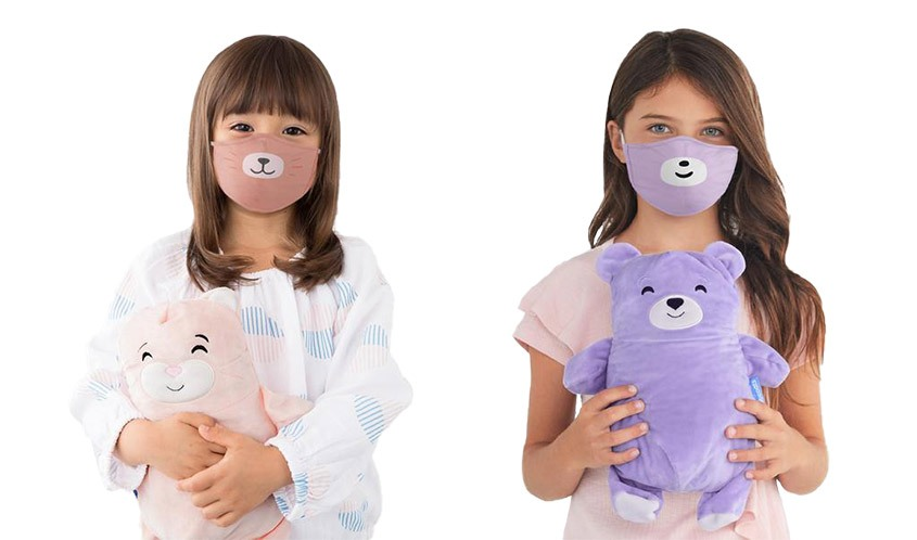 Cubcoats introduced protective face masks for kids