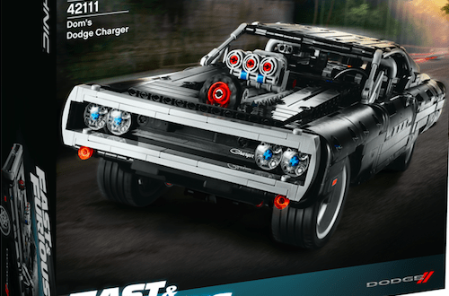 LEGO introduces its first Fast & Furious playset