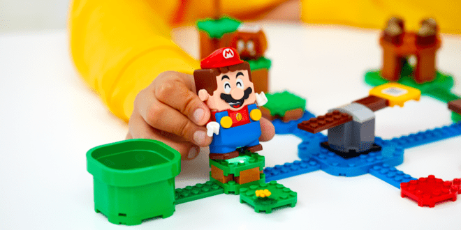 LEGO shows off more of the Super Mario interactive playsets