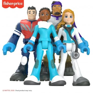"Mattel launches an ""everyday heroes"" line of action figures"