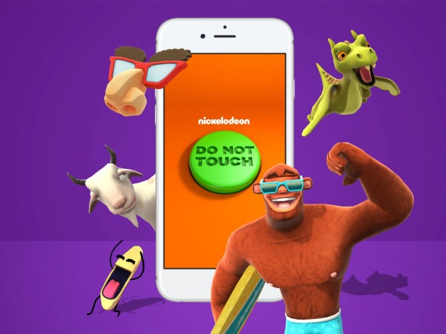 Nickelodeon introduces its first augmented reality app