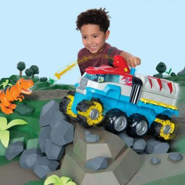Paw Patrol goes back in time with a new dinosaur rescue theme